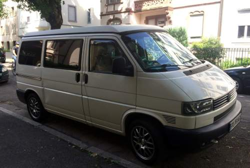 Hire a motorhome in Freiburg im Breisgau from private owners| VW TAFKAPB- The auto formerly known as Polizeibus