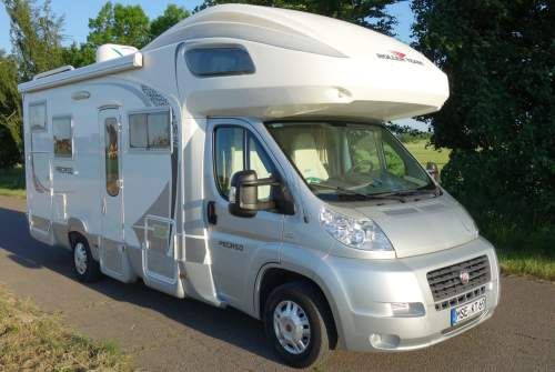 "Hire a motorhome in Neverin from private owners| Fiat Ducato ""lange Luise"""